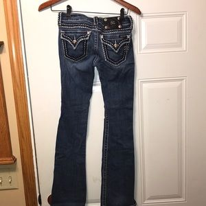 Miss Me jeans 25 as is